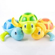 Baby turtle wound-up chain small animal toy Bath Toy