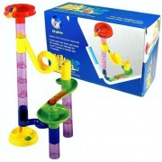 Deluxe Marble Run - 29 Piece Set Includes 15 Marbles by BY ONLINE ACES Ã'®