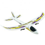 Dromida Twin Explorer Twin Motor Radio Controlled Electric Powered Glider RC Airplane White/Yellow/Purple