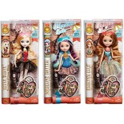 Ever After High Mirror Beach Doll Set Of 3 Madeline Hatter, Ashlynn Ella & Apple White