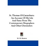 St. Thomas of Canterbury by W H Hutton