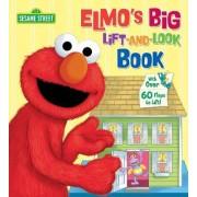 Elmo's Big Lift-and-Look Book: Sesame Street by Joe Mathieu