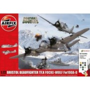 Airfix Set 2 avioane Bristol Beaufighter Mk.X si Focke-Wulf Fw190-8 scara 1 72