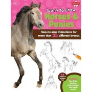 Learn to Draw Horses & Ponies by Robin Cuddy