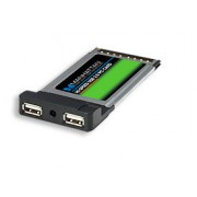 MANHATTAN 516167 :: Контролер PCMCIA към USB 2.0, 2-port