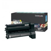 LEXMARK Cartridge for C780, C782 series, Yellow - 6000pages (C780A1YG)