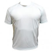 Camiseta Dry Fit Masculina Cinza - M