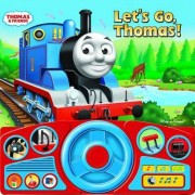 Ride Along with Thomas Steering Wheel Book by Publications International Ltd