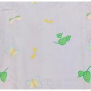 Vászon maradék zöld fehér 25x250cm/017/Cikksz:1230737