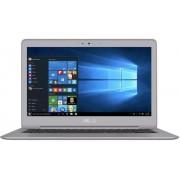 """Ultrabook™ ASUS ZenBook UX330UA-FB018T (Procesor Intel® Core™ i7-6500U (4M Cache, up to 3.10 GHz), Skylake, 13.3""""QHD+, 8GB, 512GB M.2 SSD, Intel HD Graphics 520, Wireless AC, Tastatura iluminata, Win10 Home 64, Grey)"""