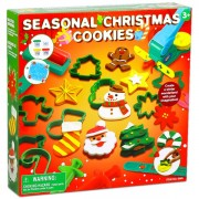 Gyurmakészlet: Karácsonyi gyurmaformákkal