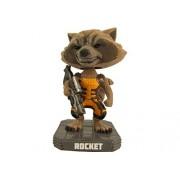 Funko - Figurine Guardians of the Galaxy - Rocket Raccoon Flocked Exclu 18cm - 0849803044640