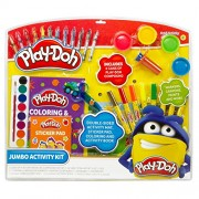 Play Doh Jumbo Activity Kit in Clamshell, Multi Color