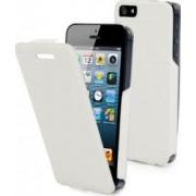 Husa Flip Muvit Apple iPhone 5 Alba