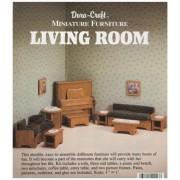 Dura-craft Miniature Dollhouse Living Room Furniture