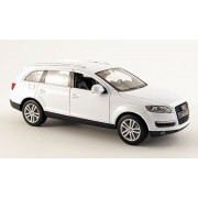 Audi Q7, white , Model Car, Ready-made, Welly 1:24