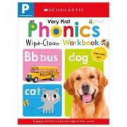 Wipe Clean Workbook: Pre-K My Very First Phonics (Scholastic Early Learners) by Scholastic