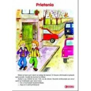 Set - Carte uriasa - Cls 1 sem 2 Prietenia+Copilaria+Ce miros au meseriile