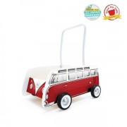 Jucarie Eco Classical Bus T1 Walker (Red), Hape