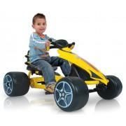 Injusa - 616000, Go-Kart a pedali per bambini, in plastica e metallo