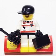 MinifigurePacks: Lego City/Town Bundle (1) RESQ-1 RESPONDER (1) FIGURE DISPLAY BASE (2) FIGURE ACCESSORIES