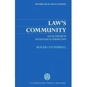 Law's Community by Roger Cotterrell