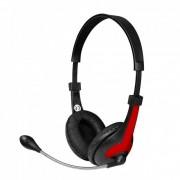 Casti Vakoss MH538KR Msonic Black / Red