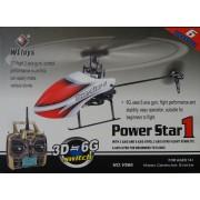 Távirányítású Rc Helikopter 6 CH 3D 2,4 GHz - Power Star No.: F966