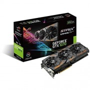 Asus ROG STRIX-GTX1070-8G-GAMING Carte graphique Nvidia GeForce GTX 1070, 1721 MHz, 8GB GDDR5X 256 bit, DirectCU III