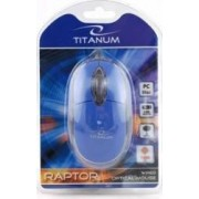 Mouse Esperanza Titanum TM102B Optic 1000DPI Albastru