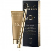 Swiss Smile d´Or Gold Toothpaste Kit 75ml Unisex - 75ml Gold Toothpaste + 1бр Ultra Soft Toothbrush Gold Plated Златен гел за зъби