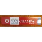 Golden Nag Champa indiai füstölő/Cikksz: 143001