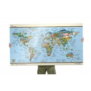 Bucketlistmap re-writable Wereldkaart | Awesome Maps