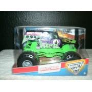 Grave Digger (4 X Champion) Monster Jam Hot Wheels Max D Decade Of Maximum Destruction 1:24 Scale (Large Truck)