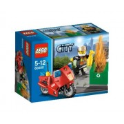 Lego City Fire Motorcycle Building Set