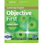 Objective First Student's Book without Answers with CD-ROM by Annette Capel