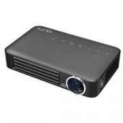 Videoproiector QUMI Q6, 800 ANSI, WXGA, LED, Negru