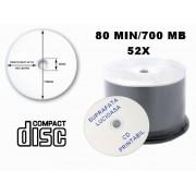 CD PRINTABIL LUCIOS 80MIN/700MB/52X