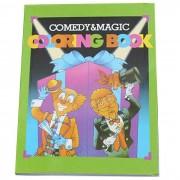 Parte del truco magico Broma Toy-Magic Coloring Book