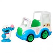 123 Sesame Street COOKIE MONSTER'S ICE CREAM TRUCK Playskool Hasbro