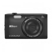 Nikon Coolpix S3600 + Калъф + Карта 8GB (Class 10)