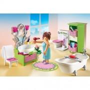 Dollhouse - Badkamer met bad op pootjes