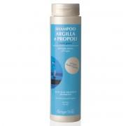 Sampon cu argila alba si propolis - actiune purificatoare - destinat parului gras