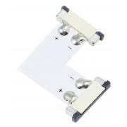 Konektor L, 8mm, zasúvaci
