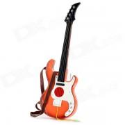 Nino 3705A 2 practica 4 cuerdas musica guitarra - negro + blanco + naranja + marron