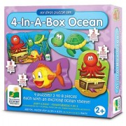 The Learning Journey My First Puzzle Sets 4-In-A-Box Puzzles Ocean