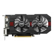 Asus Radeon R7360-OC-2GD5 Scheda Video, Nero