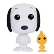 Figurina Pop! Animation Peanuts Flocked Snoopy & Woodstock Exclusive
