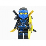 LEGO Ninjago Deepstone Jay Blue Ninja Minifigure Yellow Aeroblade NEW 2015