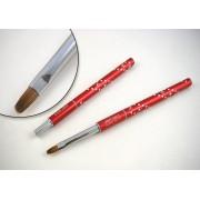 Designer Brush - Crystal Collection, ovala, marimea 4, art. nr.: 40021